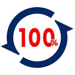 100% cash-back