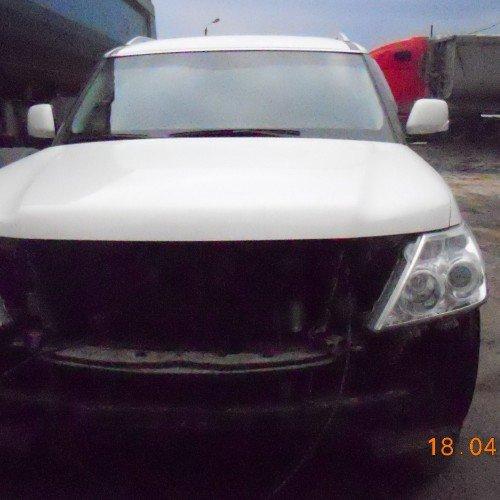Nissan Patrol до установки бампера #2