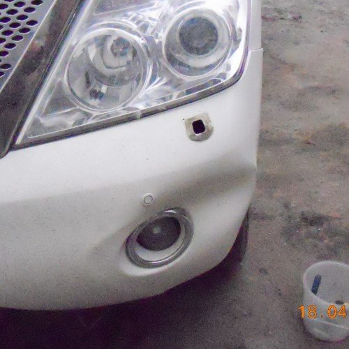 Nissan Patrol до установки бампера #3