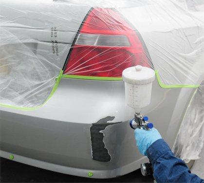 Частичная покраска автомобильного кузова