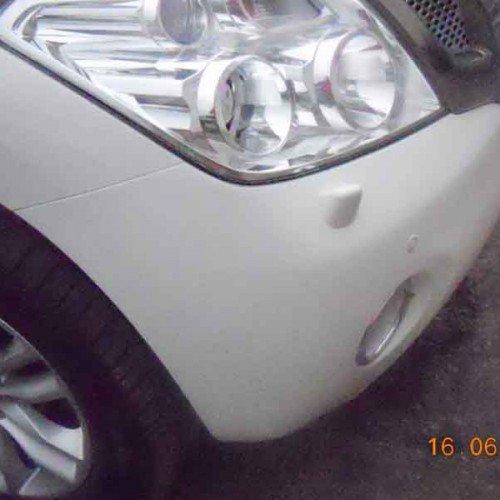 Nissan Patrol после установки бампера #1