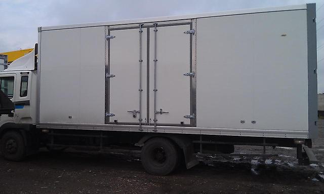 Ремонт изотермических фургонов в «ЕС Автосервис»