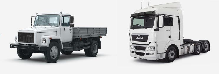 Любые грузовики