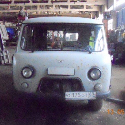 УАЗ до ремонта кузова, #1
