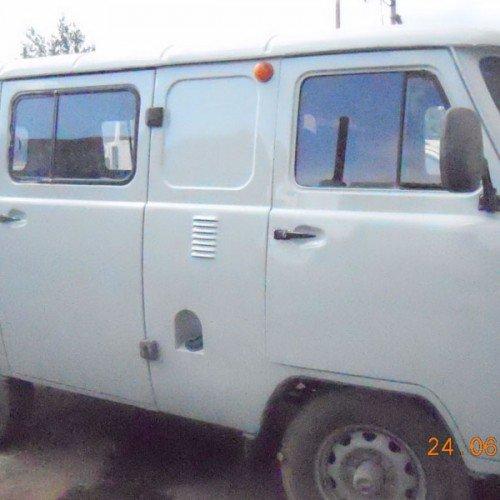 УАЗ во время ремонта кузова, #3