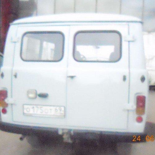 УАЗ во время ремонта кузова, #2