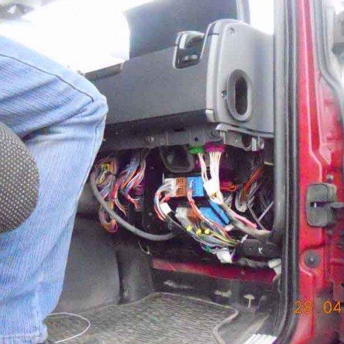 Установка УОС на Scania, #8